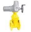 Задвижка AVK фланцевая для газа с электроприводом AUMA, DN 50-400